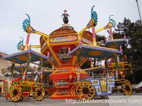 Popular amusement modern times ride