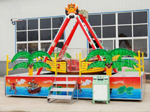 Kiddie 8 seat pirate ship ride for sale