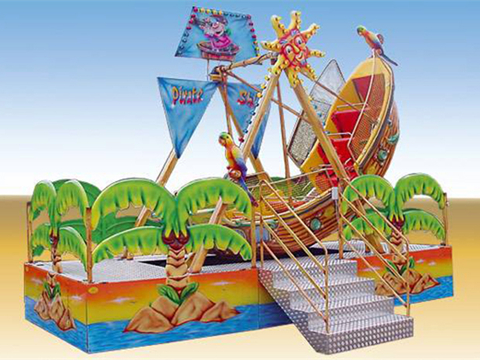 Beautiful decoration kiddie pirate ship ride for sale