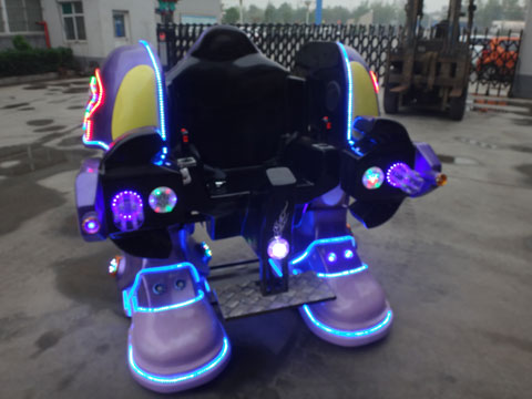 robot ride for park