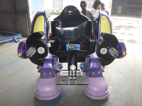 robot ride in our factory