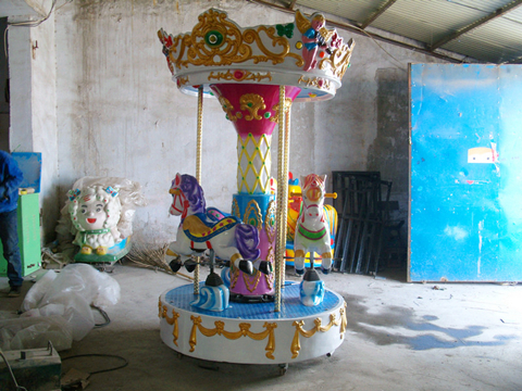 Angel carousel for backyard