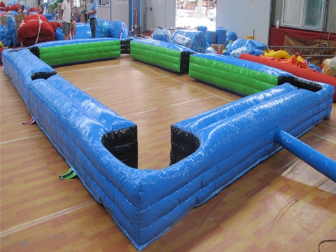 Inflatable blue snookball for sale