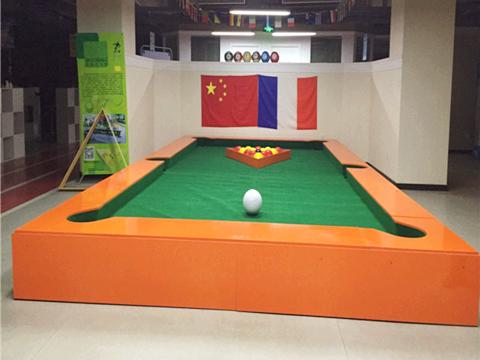 Orange Grand Type Snookball Table for Sale