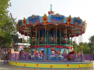 Grand Double Decker Carousel for Sale