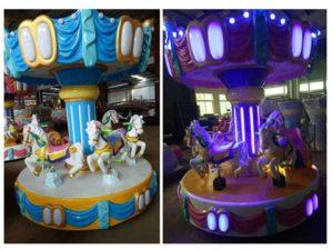 Kids 6 Seat Carousel Rides
