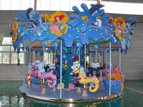 Kiddie Ocean Carousel for Sale