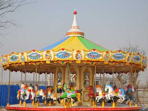Beston New Park Carousel Rides