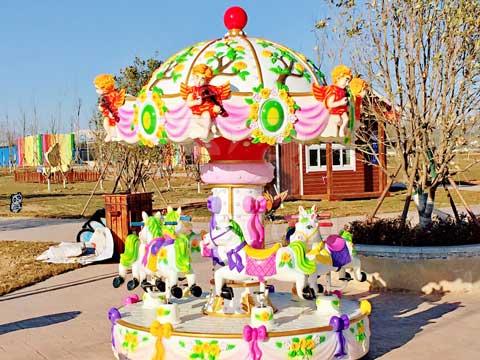 Install Grand Carousel