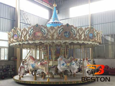 Beston 16 Seat New Carousel Rides