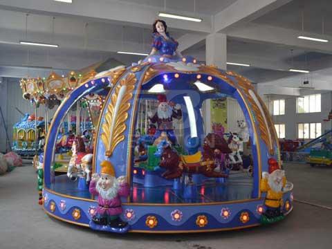 Beston 16 Seat Princess Carousel Rides