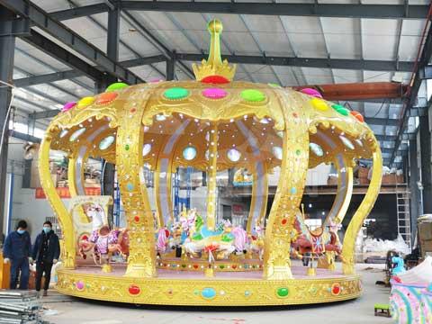 Beston 26 Seat Clown Carousel Rides