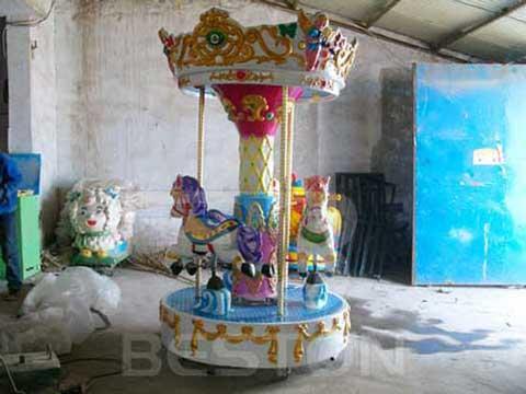 3 Seat Mini Carousel for Sale